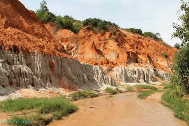 Phan Thiet, Red Canyon Fairy Stream