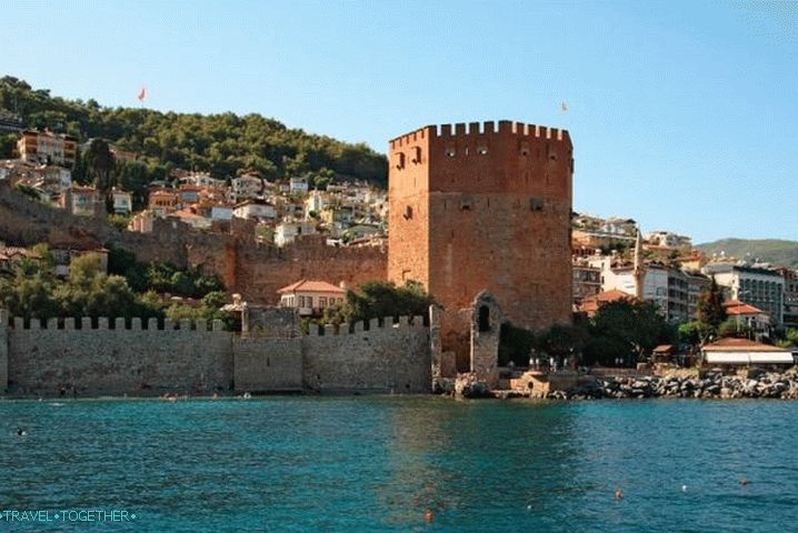 Alanya, Red Tower